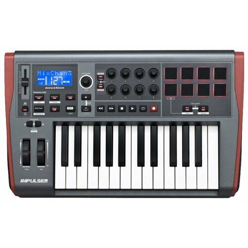 MIDI-клавиатура Novation Impulse 25 серый