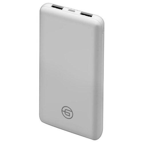 Аккумулятор Ginzzu GB-3911, 10000 mAh белыйУниверсальные внешние аккумуляторы<br>