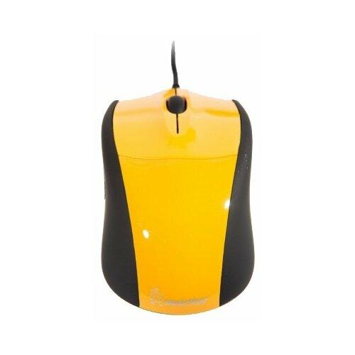 Фото - Мышь SmartBuy SBM-325, yellow мышь smartbuy sbm 329 ky black yellow usb