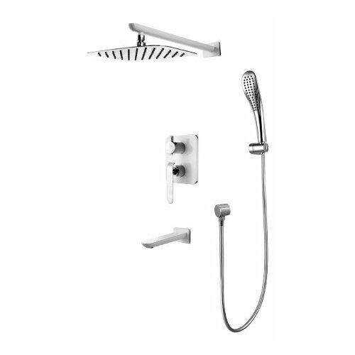 Верхний душ встраиваемый Lemark Melange LM4922CW хром