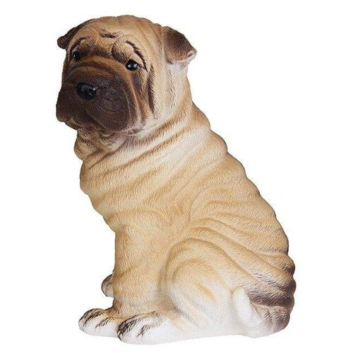 Купить Игрушка для ванной ОГОНЁК Собака Шарпей (С-690) коричневый, Игрушки для ванной