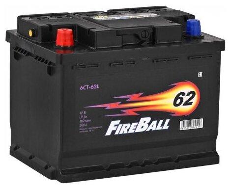 Аккумулятор FireBall 6СТ-62N