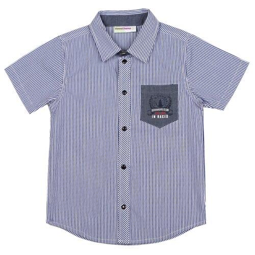 Рубашка Sweet Berry размер 104, голубойРубашки<br>