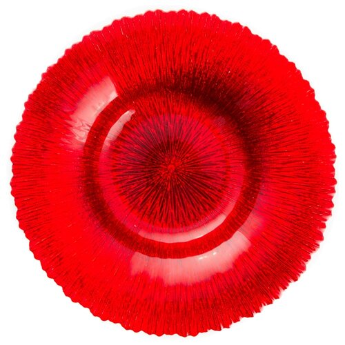 Akcam Блюдо Рубин 30 см красный