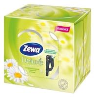 Салфетки Zewa Deluxe Ромашка в коробке косметические