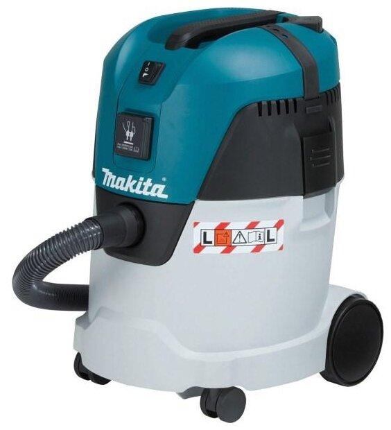 Профессиональный пылесос Makita VC2512L 1000 Вт