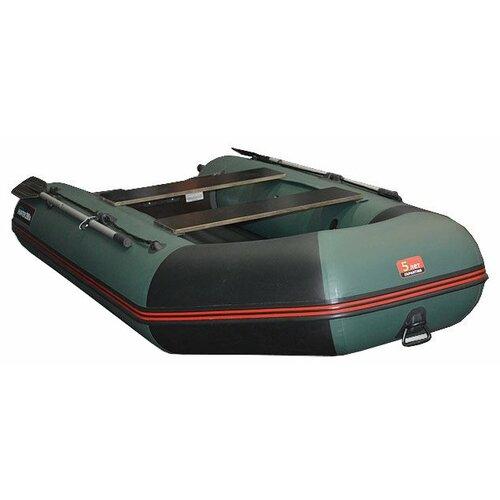 Надувная лодка HUNTERBOAT Хантер 290 ЛКА зеленый надувная лодка leader компакт 200 зеленый