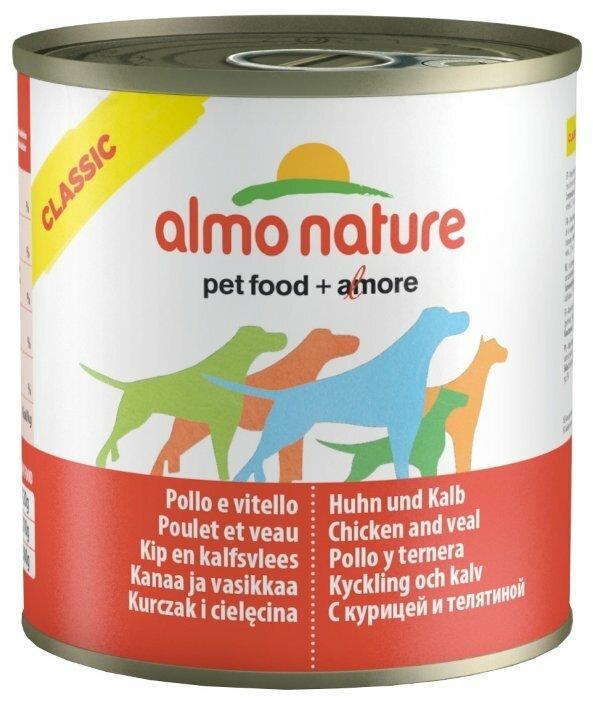Корм для собак Almo Nature Classic курица, телятина