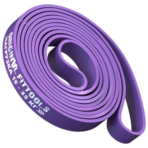 Эспандер лента Original FitTools FT-EX-208-32 208 х 3.2 см фиолетовый