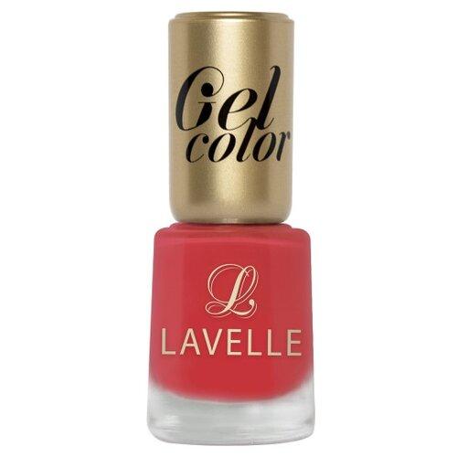Лак Lavelle Gel Color 12 мл. 027 неоново-розовыйЛак для ногтей<br>