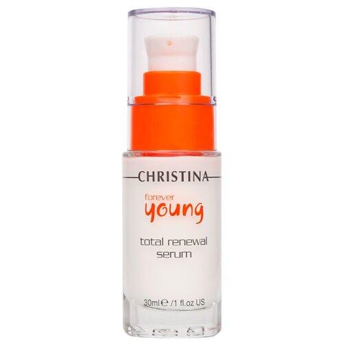 Christina Forever Young Total Renewal Serum Омолаживающая сыворотка для лица, шеи и декольте Тоталь (шаг 7), 30 мл омолаживающая сыворотка тоталь кристина отзывы