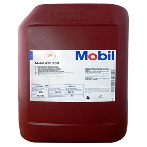 Трансмиссионное масло MOBIL ATF 200 20 л