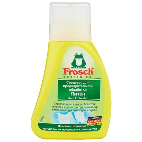 Frosch для предварительной обработки пятен 75 мл флаконОтбеливатели и пятновыводители<br>