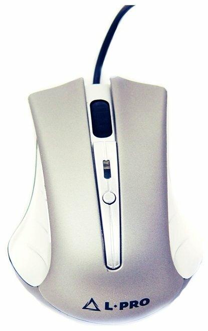 Мышь L-PRO 178/1271 Silver USB