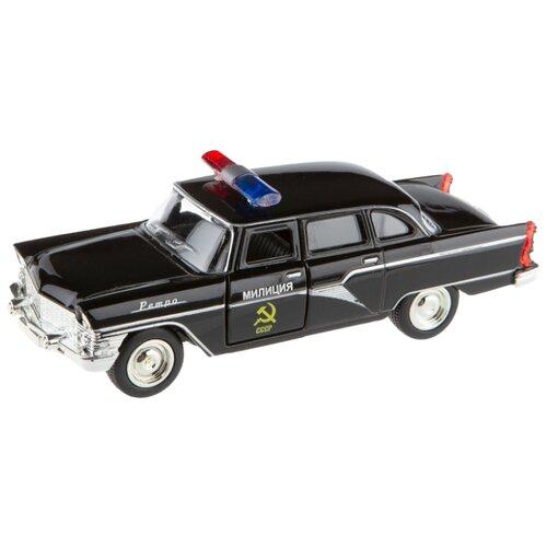 Купить Легковой автомобиль Play Smart 6410D 1:48 черный, Машинки и техника