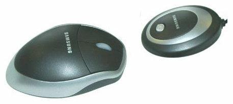Мышь Samsung OMW4CL Silver-Black USB+PS/2
