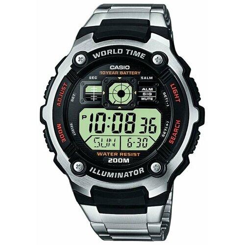 Наручные часы CASIO AE-2000WD-1A наручные часы casio lrw 200h 2e