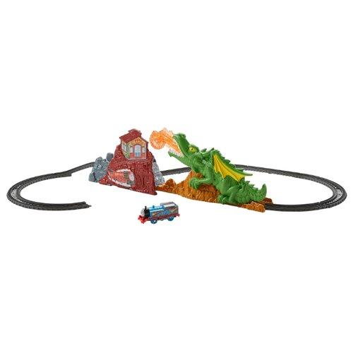 Fisher-Price Стартовый набор Побег от дракона, серия TrackMaster, FXX66Наборы, локомотивы, вагоны<br>