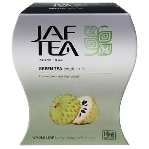 Чай зеленый Jaf Tea Silver collection Exotic fruit, 100 г