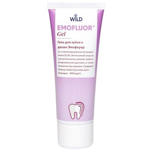 Купить Эмофлуор гель для зубов и десен, 75мл, Dr. Wild