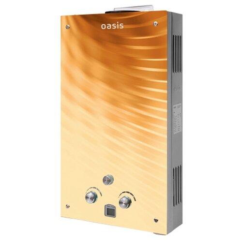 Проточный газовый водонагреватель Oasis Glass 20BG накопительный водонагреватель oasis oasis 10 kn