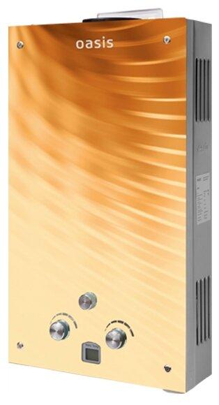Проточный газовый водонагреватель Oasis Glass 20BG
