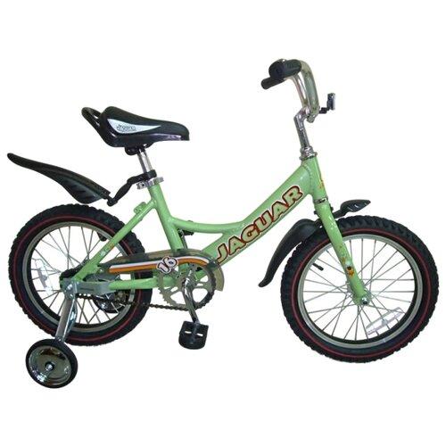 """Детский велосипед JAGUAR MS-162 Alu салатовый (требует финальной сборки) велосипед meratti protus sport 29 er 16 29"""" черный салатовый матовый"""