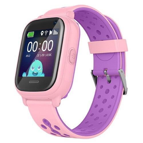 Детские умные часы Smart Baby Watch KT04, розовый умные часы smart baby watch t58 золотистый