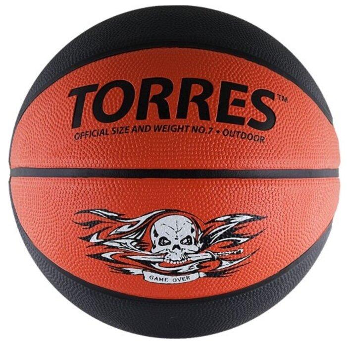 Баскетбольный мяч TORRES Game Over, р. 7