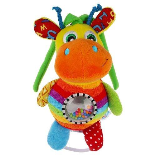 Купить Подвесная игрушка Умка Весёлый жирафик (RM-G3) оранжевый/зеленый, Подвески
