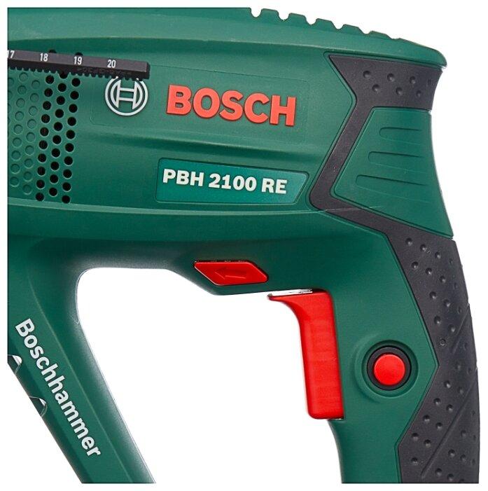 Перфоратор сетевой BOSCH PBH 2100 RE (1.7 Дж)
