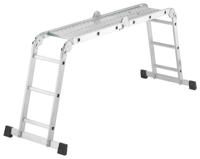 Лестница трансформер 4-секционная Hailo ProfiStep Combi