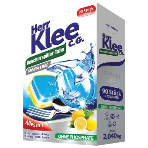 Herr Klee Silver Line таблетки для посудомоечной машины 102 шт. 2.04 кг c graupner fuhr uns herr in versuchung nicht gwv 1121 32
