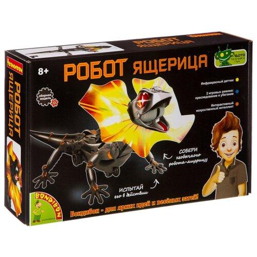 Купить Набор BONDIBON Робот ящерица (ВВ2293) черный, Наборы для исследований