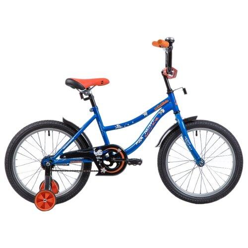 Детский велосипед Novatrack Neptune 18 (2019) синий (требует финальной сборки)