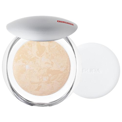 Pupa Luminys пудра компактная запеченная Silky Baked Face Powder 01 ivory beige пудра pupa 4sun bronzing powder 02