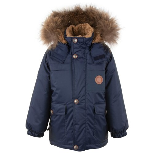 Купить Куртка KERRY Tom K20438 размер 128, 229 темно-синий, Куртки и пуховики