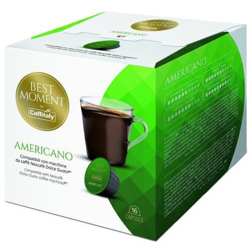 Фото - Кофе в капсулах Best Moment Americano (16 капс.) кофе в капсулах absolut drive латте маккиато 16 капс