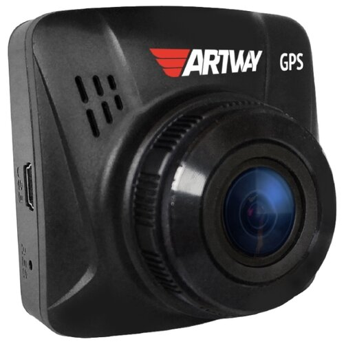 Купить Видеорегистратор Artway AV-397 GPS Compact, GPS черный