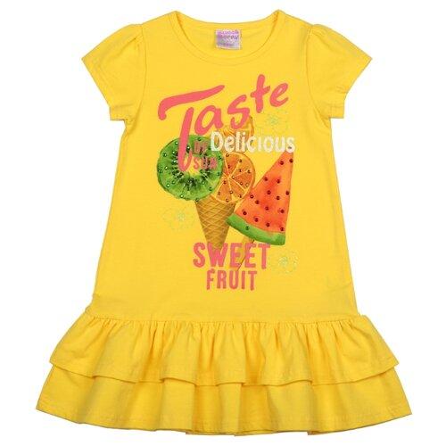 Платье Sweet Berry размер 116, желтыйПлатья и сарафаны<br>
