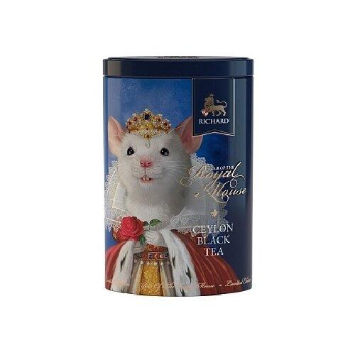 Чай черный Richard Year of the royal mouse, подарочный набор , 80 г чай листовой richard royal ceylon dogs