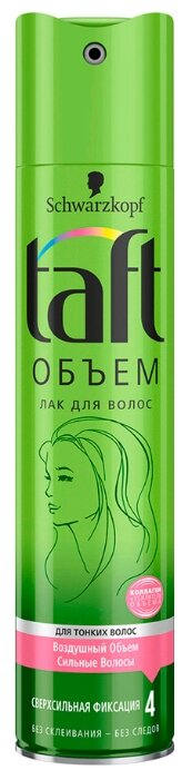 Taft Лак для волос Объём для тонких волос, экстрасильная фиксация