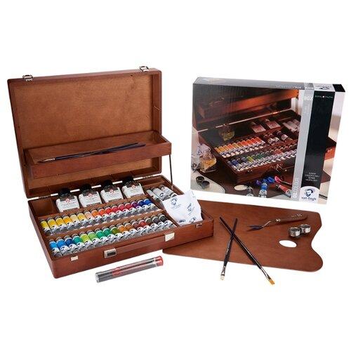Купить Набор масляных красок Van Gogh Максимальный 34цв*20мл, Royal Talens, Краски