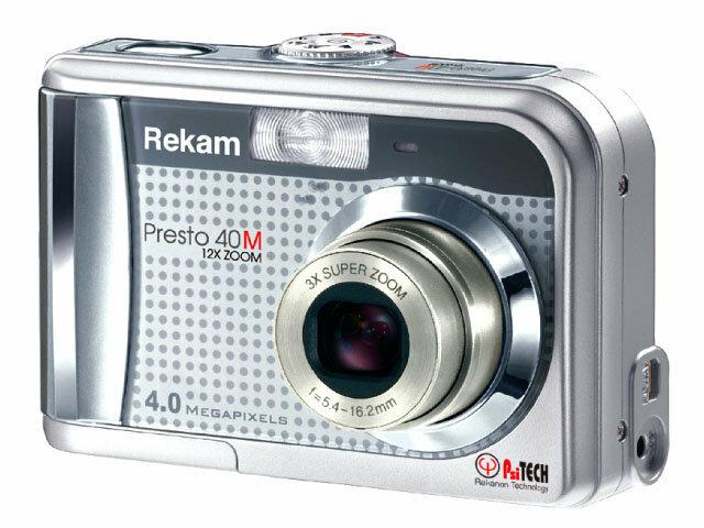 Фотоаппарат Rekam Presto-40M