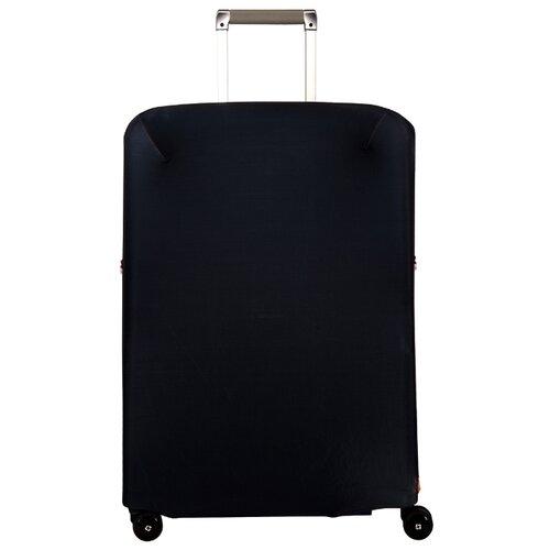 Чехол для чемодана ROUTEMARK Black SP240 M/L, черный чехол для чемодана routemark inmotion размер m l 65 74 см