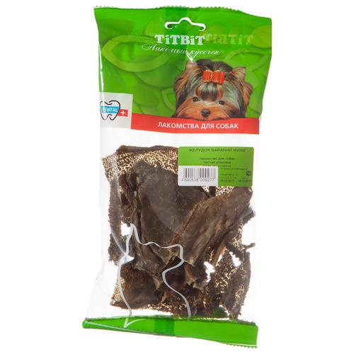 Лакомство для собак Titbit Желудок бараний мини, 40 г недорого