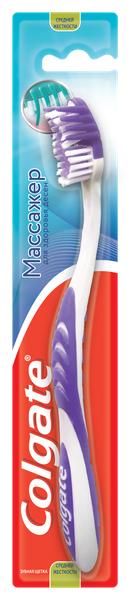 Зубная щетка Colgate Массажер для здоровья десен, средней жесткости