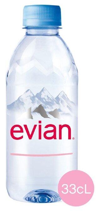 Вода Evian минеральная столовая негазированная 500мл