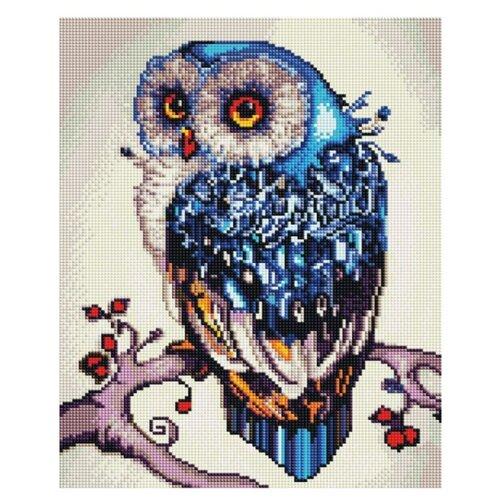 Купить Алмазная мозаика Paintboy EF 151 Совушка 30x40см, Алмазная вышивка