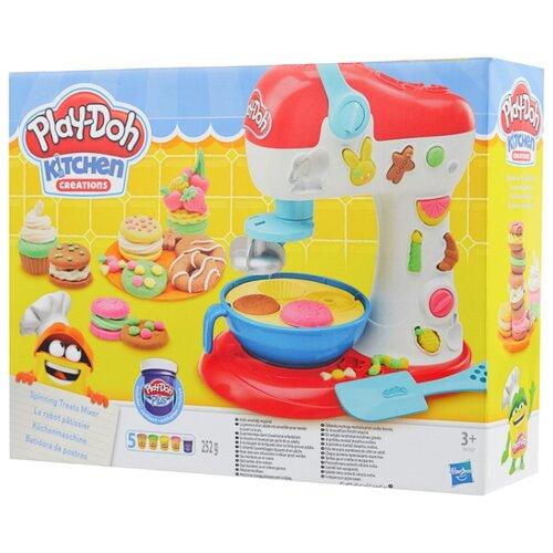 Купить Масса для лепки Play-Doh Миксер для конфет (E0102), Пластилин и масса для лепки